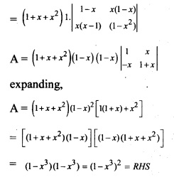Plus Two Maths Chapter Wise Previous Questions Chapter 4 Determinants 17