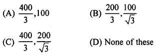 RBSE Solutions for Class 10 Maths Chapter 8 Height and Distance Q.13.1