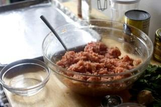 ginger-garlic meatballs
