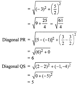 RBSE Solutions for Class 10 Maths Chapter 9 Co-ordinate Geometry 4Q.7.5