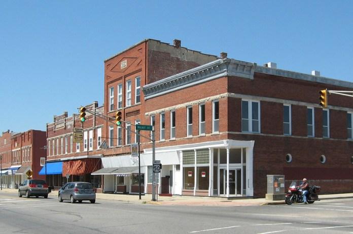 US 50 in Brownstown