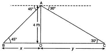 RBSE Solutions for Class 10 Maths Chapter 8 Height and Distance Q.22