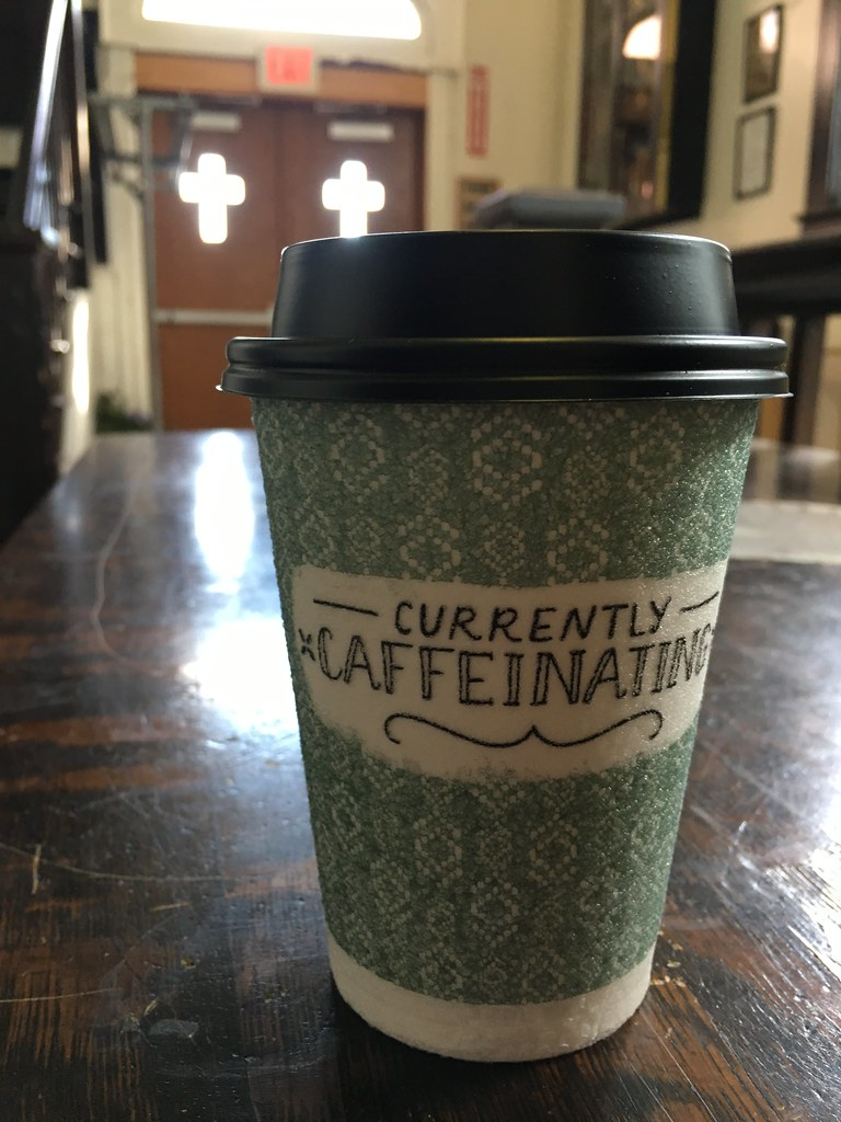 Currently caffeinating