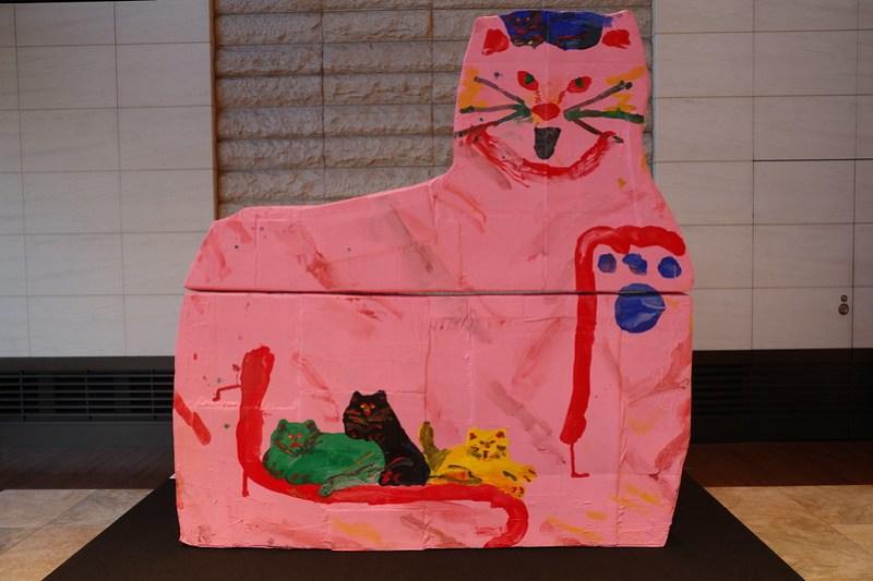 Fortune Animal Art beckoning cat
