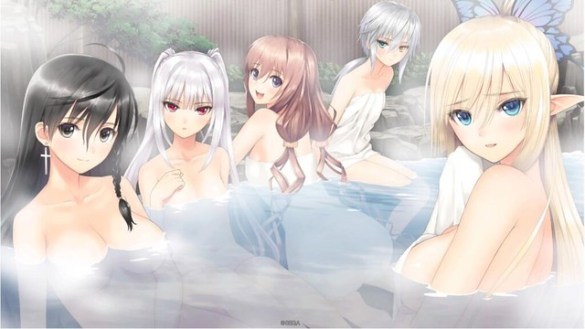 Blade Arcus Rebellion from Shining - Hot Springs