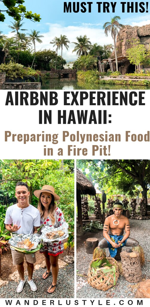 AIRBNB EXPERIENCE ON OAHU: Prepare Polynesian Food in a Fire Pit at Polynesian Cultural Center - Hawaii Activities, Things to do hawaii, things to do oahu, hawaii travel tips, #hawaii #hawaiitravel #oahu #hawaiitraveltips | Wanderlustyle.com