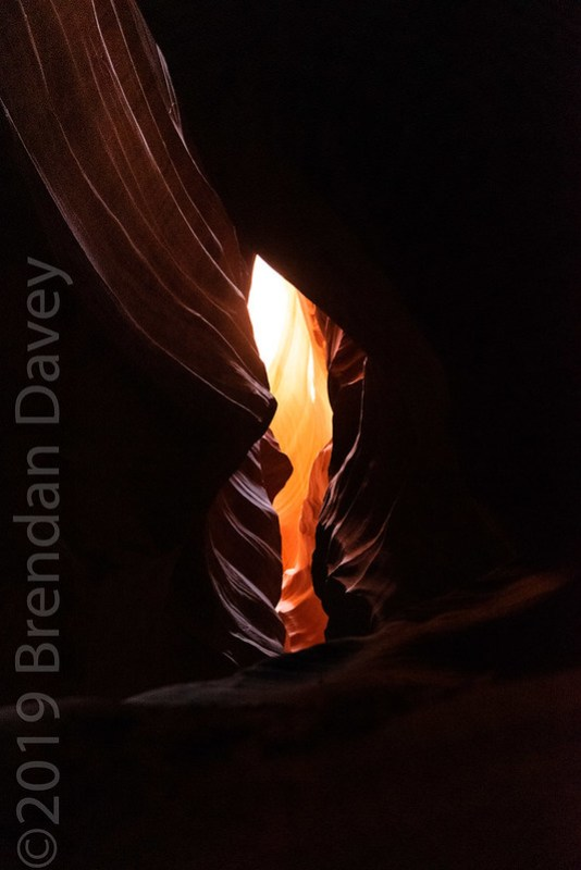 The Flame, Upper Antelope Canyon, Navajo land.