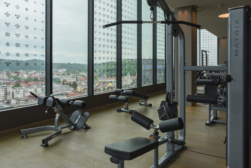 gym at intercontinental ljubljana