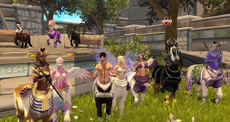Fantasy Faire - Faireholm - Centaur Parade