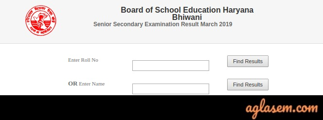 HBSE 12th Science Result