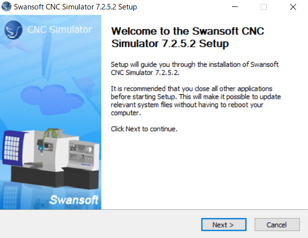 Nanjing Swansoft SSCNC Simulator 7.2.5.2 full license