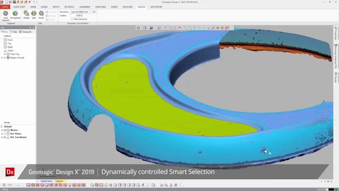 Working with Geomagic Design X 2019 x64 full license