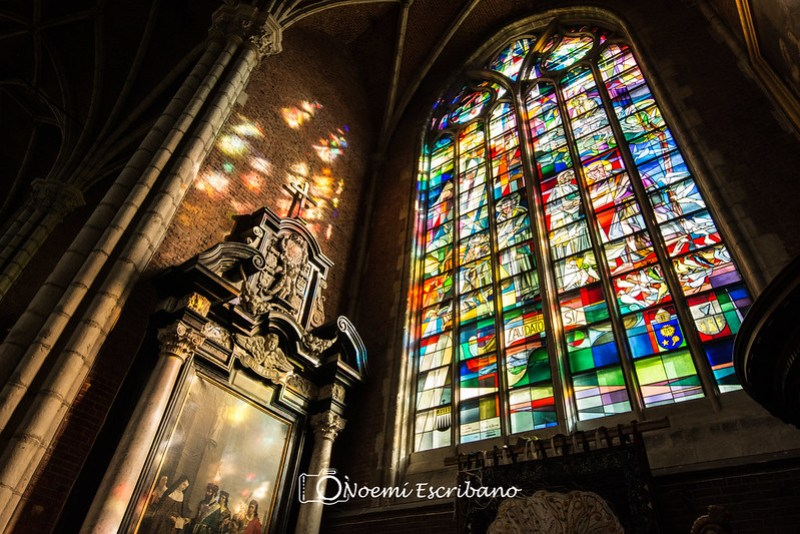 Interior Catedral de Gante