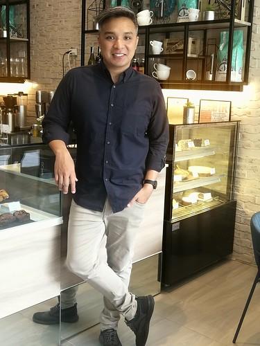 Scott Tan of Cafe Freddo