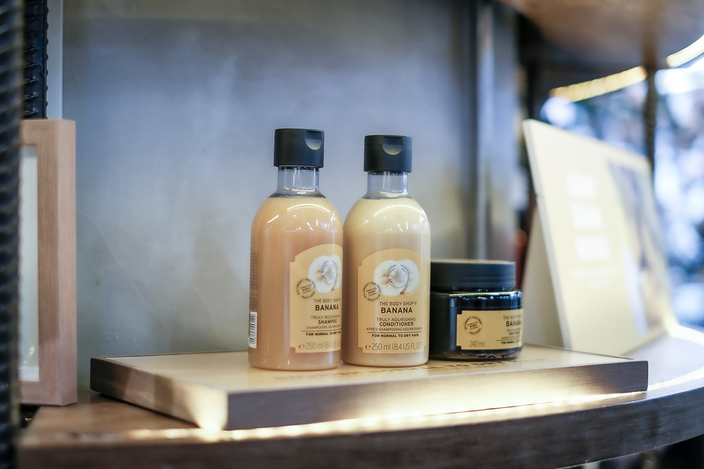 the bodyshop Ginger haircare range-9