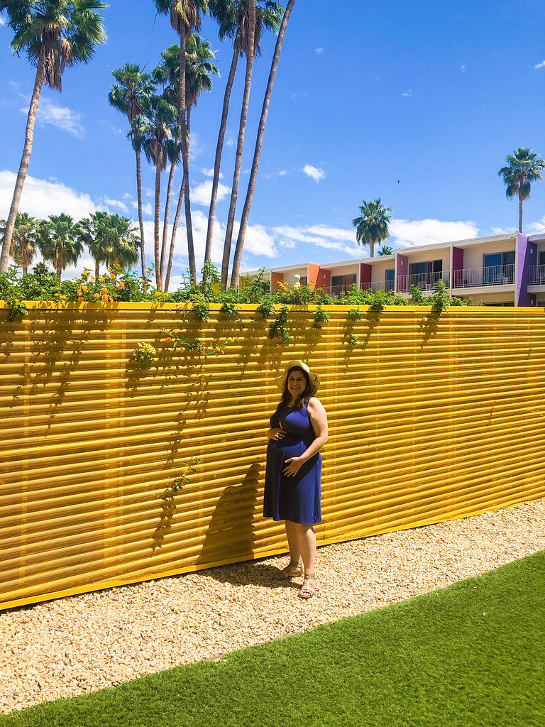Showing off the Bump at The Saguaro