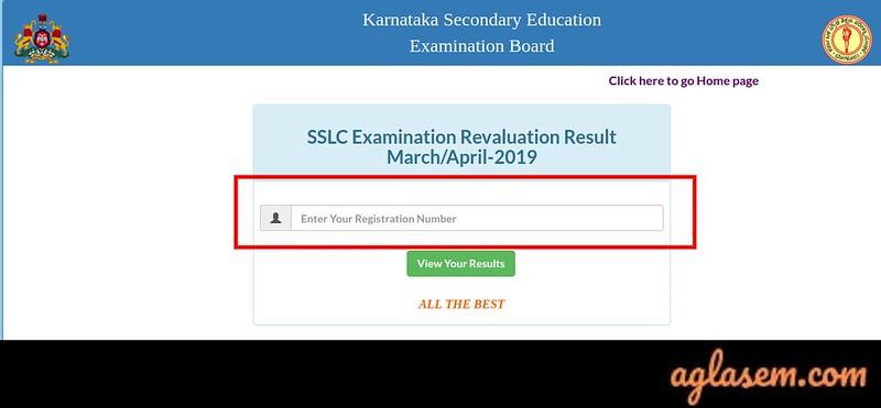 Karnataka SSLC Revaluation 2019 Result