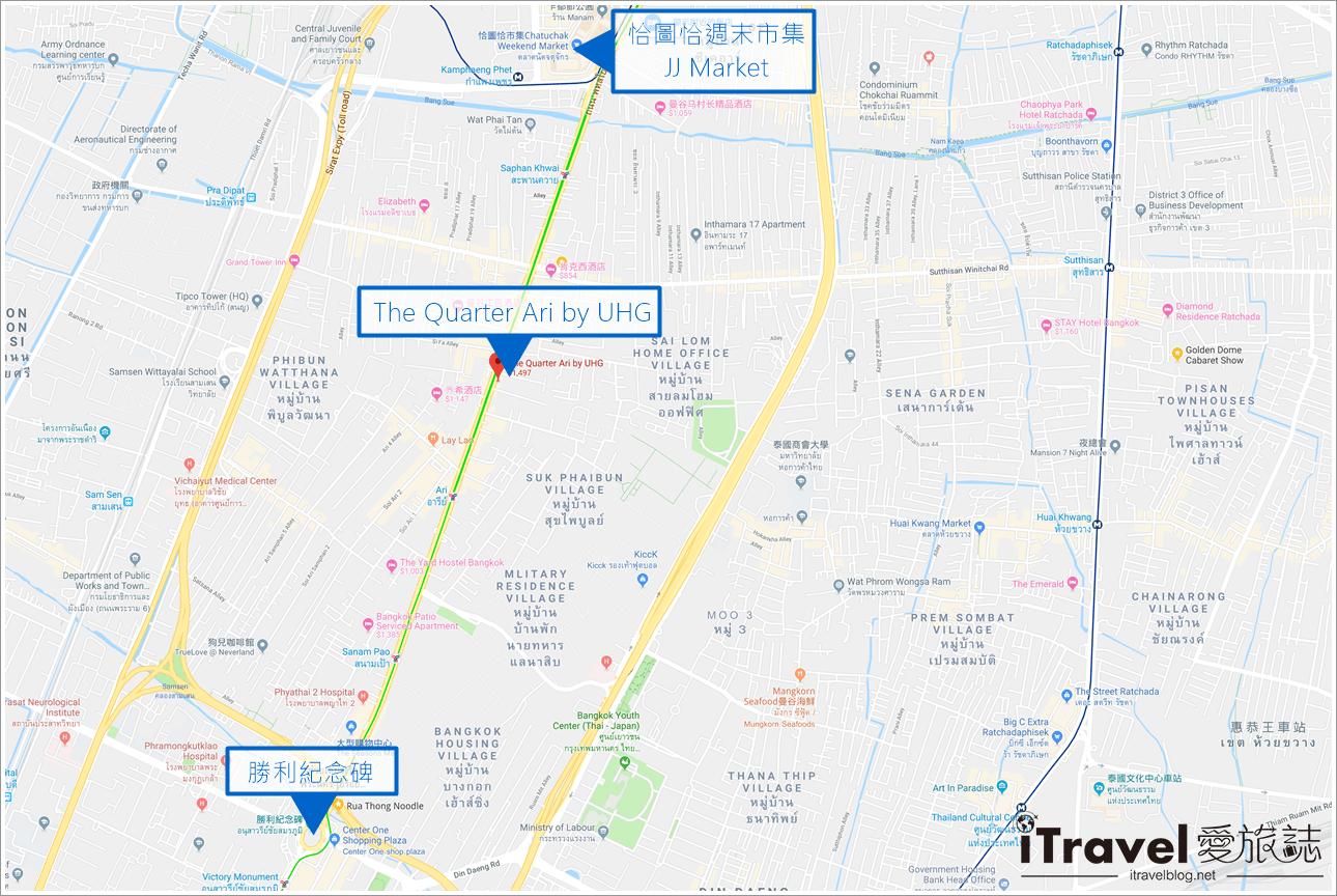 曼谷公寓式飯店 The Quarter Ari by UHG (89)