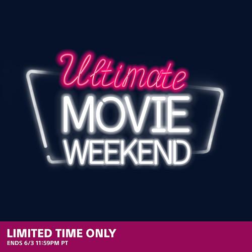Ultimate Movie Weekend