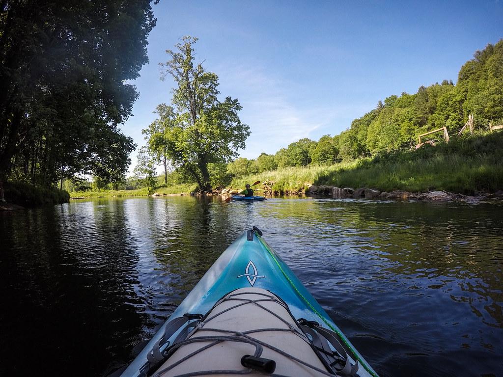 Paddling the North Toe River-4