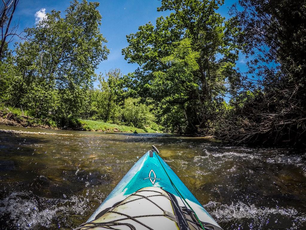 Paddling the North Toe River-155