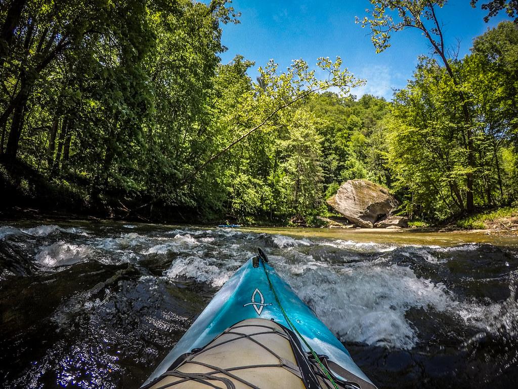 Paddling the North Toe River-148