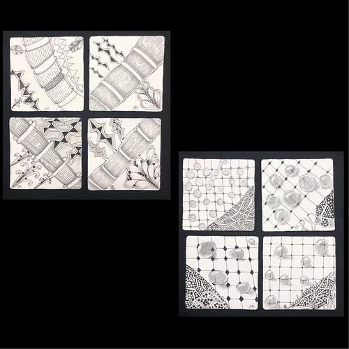 """Beyond Basics: Tanglenhancers"" class tiles"