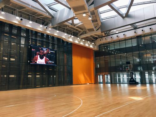 Basketball court in Tencent, Shenzhen