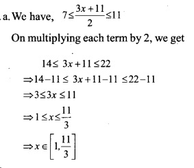 HSSlive Plus One Maths Chapter Wise Questions and Answers Chapter 6 Linear Inequalities 9