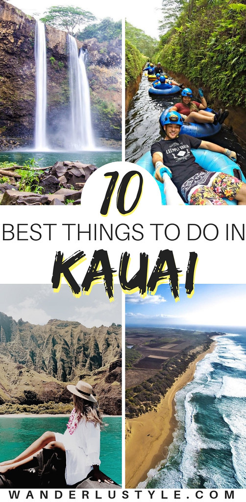 10 Best Things To Do in Kauai - Kauai Travel Tips, Kauai Travel, Kauai Things To Do, Kauai Mountain Tubing, Kauai Backcountry, Things to do Kauai | Wanderlustyle.com