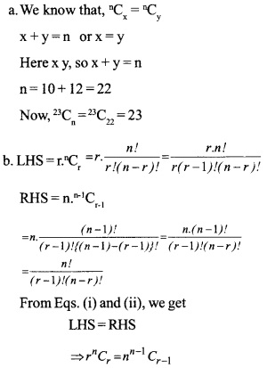 HSSlive Plus One Maths Chapter Wise Questions and Answers Chapter 7 Permutation and Combinations 9