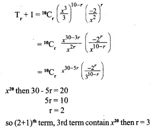 HSSlive Plus One Maths Chapter Wise Questions and Answers Chapter 8 Binomial Theorem 2
