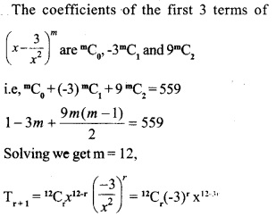 HSSlive Plus One Maths Chapter Wise Questions and Answers Chapter 8 Binomial Theorem 36
