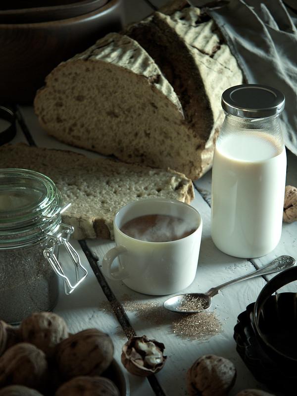 Still Life with Milk and Sugar