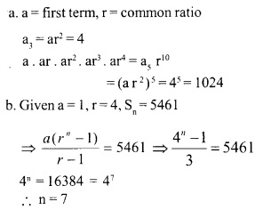 HSSlive Plus One Maths Chapter Wise Questions and Answers Chapter 9 Sequences and Series 18