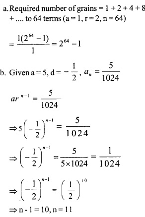 HSSlive Plus One Maths Chapter Wise Questions and Answers Chapter 9 Sequences and Series 22