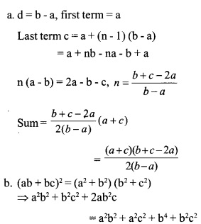 HSSlive Plus One Maths Chapter Wise Questions and Answers Chapter 9 Sequences and Series 23