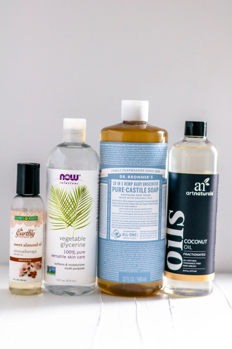 Talking about DIY Essential Oil Body Wash in this month's edition of Let's Catch Up.