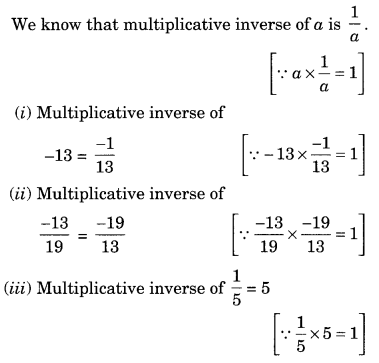 NCERT Solutions for Class 8 Maths Chapter 1 Rational Numbers Q4.1