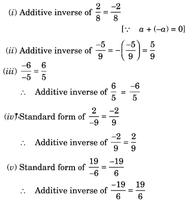 NCERT Solutions for Class 8 Maths Chapter 1 Rational Numbers Q2