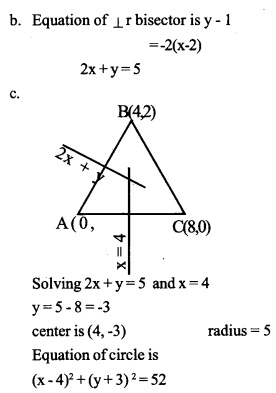 HSSlive Plus One Maths Chapter Wise Questions and Answers Chapter 10 Straight Lines 45