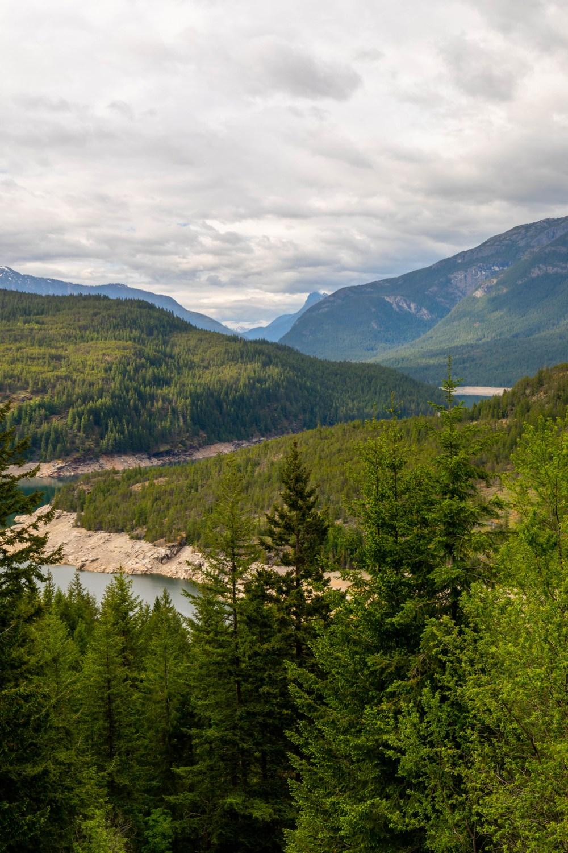05.26. North Cascades. Ross Lake Overlook
