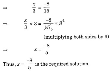 NCERT Solutions for Class 8 Maths Chapter 2 Linear Equations in One Variable Q12.1
