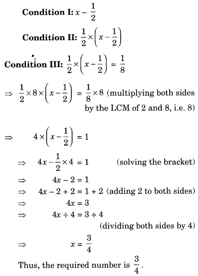 NCERT Solutions for Class 8 Maths Chapter 2 Linear Equations in One Variable Ex 2.2 Q1