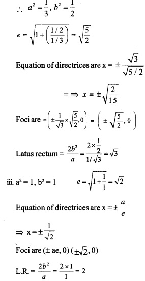 HSSlive Plus One Maths Chapter Wise Questions and Answers Chapter 11 Conic Sections 19