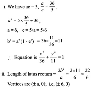 HSSlive Plus One Maths Chapter Wise Questions and Answers Chapter 11 Conic Sections 9