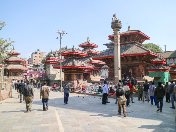 Que ver en la plaza Durbar de Katmandú