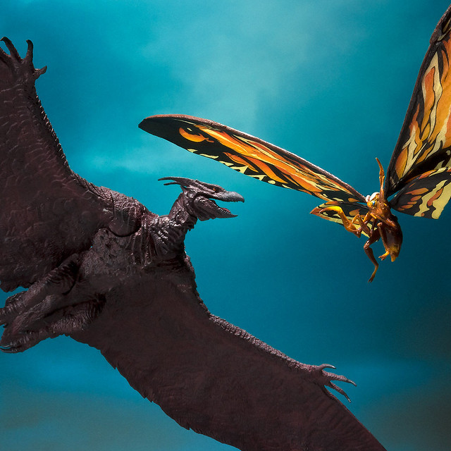 S.H.MonsterArts《哥吉拉2:怪獸之王》摩斯拉(2019)&拉頓(2019) モスラ(2019)&ラドン(2019)【PB限定 ...