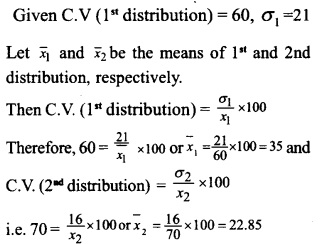 HSSlive Plus One Maths Chapter Wise Questions and Answers Chapter 15 Statistics 46
