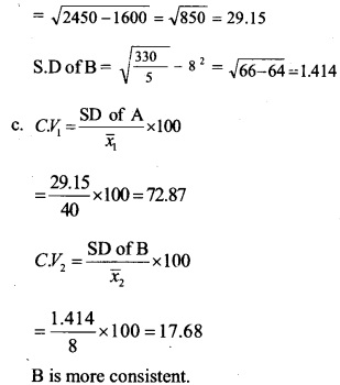 HSSlive Plus One Maths Chapter Wise Questions and Answers Chapter 15 Statistics 29
